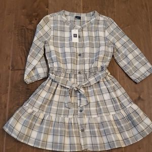 Gap kids Plaid Dress